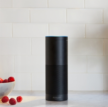 Echo Plus, Black, Kitchen Counter