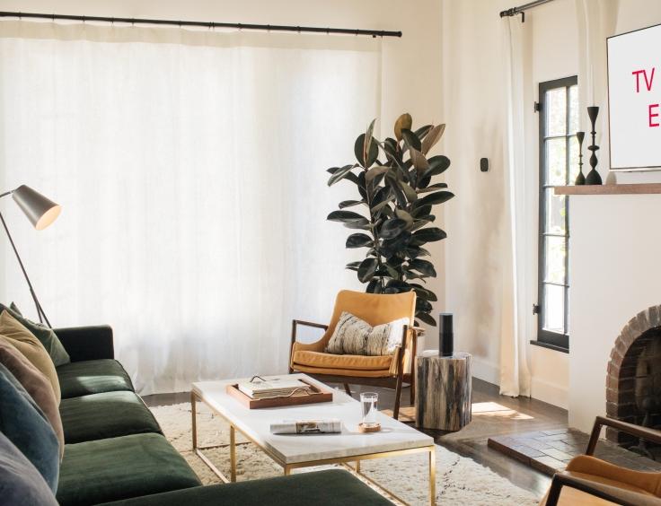 Echo Plus, Black, Living Room