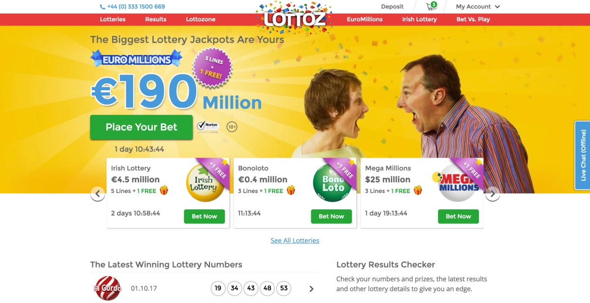 Lottoz Launched in Ireland